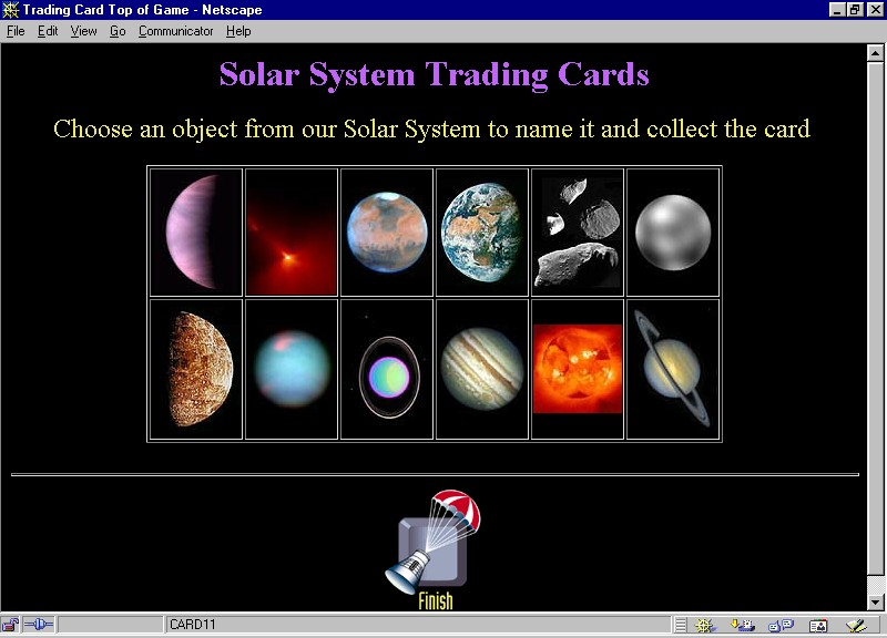 System trading cards