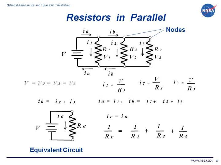 In A Series Circuit The Current Is The Same But The Voltage Is