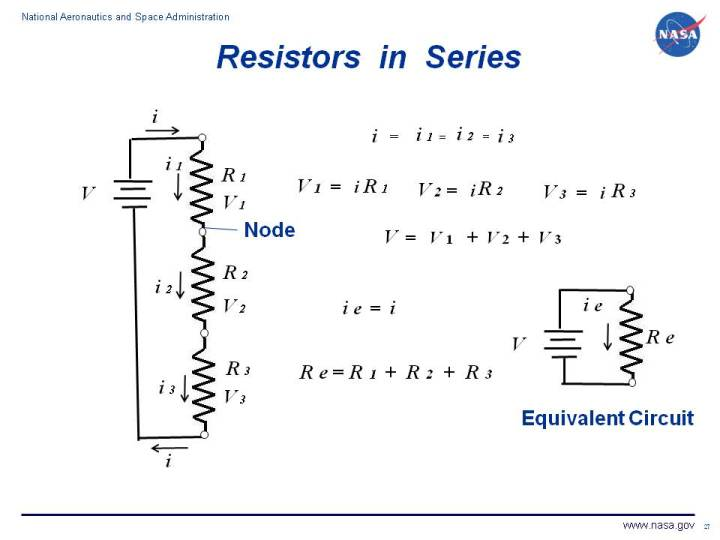 Simple Series Circuits : Series And Parallel Circuits - Electronics