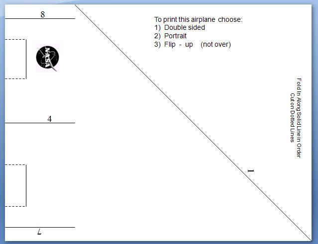 It's just a picture of Printable Paper Airplane Template with stuffed vintage airplane