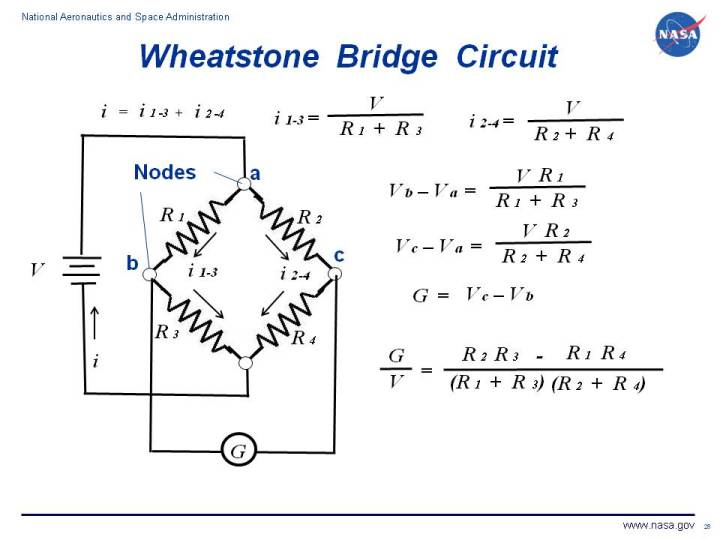 Nasa - Wheatstone Bridge